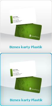 Biznes Karty - Plastik